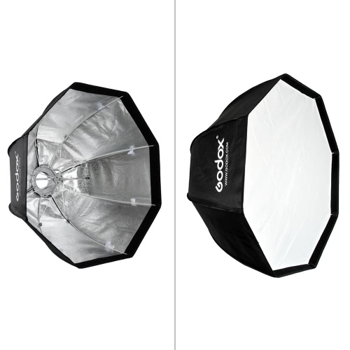 Godox SB-UE 80cm / 31.5in Portable Octagonal Umbrella Softbox with Bowens Mount for SpeedliteSoftboxes<br>Godox SB-UE 80cm / 31.5in Portable Octagonal Umbrella Softbox with Bowens Mount for Speedlite<br><br>Blade Length: 20.5cm