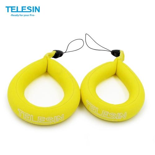 Buy TELESIN Waterproof Camera Float Floating Straps Hand (1 bag) GoPro/Panasonic Lumix/Nikon COOLPIX AW110/Canon PowerShot D20/Fujifilm FinePix/Olympus Tough/Sony-Protect Device Sinking