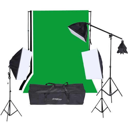 Photography Studio Portrait Product Light Lighting Tent Kit Photo Video Equipment (9 * 135W Light Bulb+2*Softbox with 4in1 Bulb Socket+1 * Softbox with E27 Single Socket Lamp Holder+3*Light Stand+1*Cantilever Stick+Carrying Bag)Studio Light Shed Kits<br>Photography Studio Portrait Product Light Lighting Tent Kit Photo Video Equipment (9 * 135W Light Bulb+2*Softbox with 4in1 Bulb Socket+1 * Softbox with E27 Single Socket Lamp Holder+3*Light Stand+1*Cantilever Stick+Carrying Bag)<br><br>Blade Length: 86.0cm