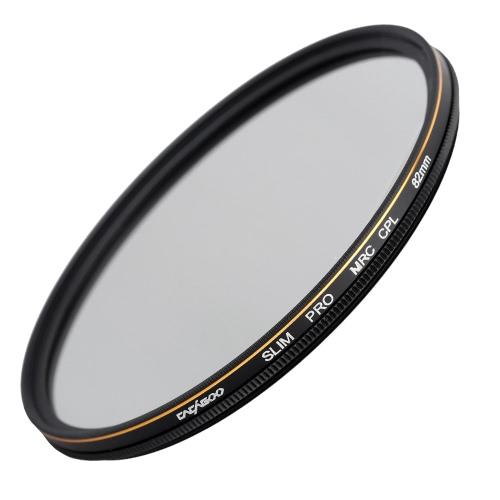 CACAGOO 82mm CPL Circular Polarizer Filter Photography