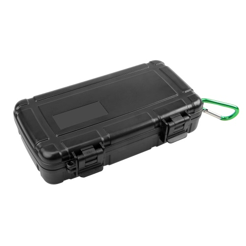 Andoer Portable ABS Waterproof Shockproof Panoramic Camera Case Protective Storage Box Bag for LG 360 Camera and Related Accessories w/ Padded PE Foam and Carabiner D4142