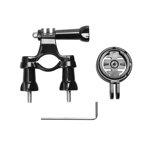 Andoer Bike Handlebar Seatpost Mount Stand with Adapter Holder for Garmin Edge Cycle GPS 25 200 500