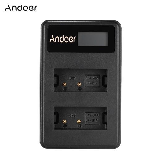 Andoer Mini Portable Dual Slot LCD Screen USB charger for Canon DSLR Li-ion Lithium BatteryBattery and handles<br>Andoer Mini Portable Dual Slot LCD Screen USB charger for Canon DSLR Li-ion Lithium Battery<br><br>Blade Length: 10.0cm