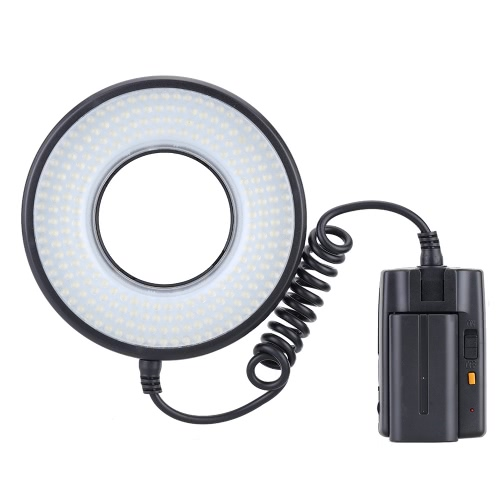 MRC-232 Macro LED Dimmable Light Ring Video Light Kit 1400LM Color Temp 5800K for Canon Nikon PentaxLED Video Lights<br>MRC-232 Macro LED Dimmable Light Ring Video Light Kit 1400LM Color Temp 5800K for Canon Nikon Pentax<br><br>Blade Length: 29.5cm
