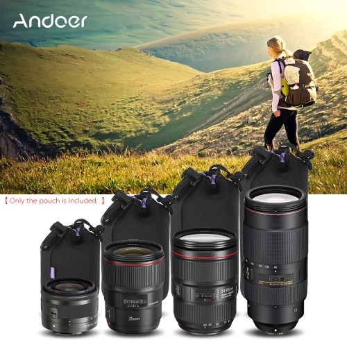 Andoer Shockproof Water-resistant DSLR Lens Pouch Kit(S+M+L+XL) for Canon Nikon Sony Tamron LensCamera Lenses<br>Andoer Shockproof Water-resistant DSLR Lens Pouch Kit(S+M+L+XL) for Canon Nikon Sony Tamron Lens<br><br>Blade Length: 27.0cm