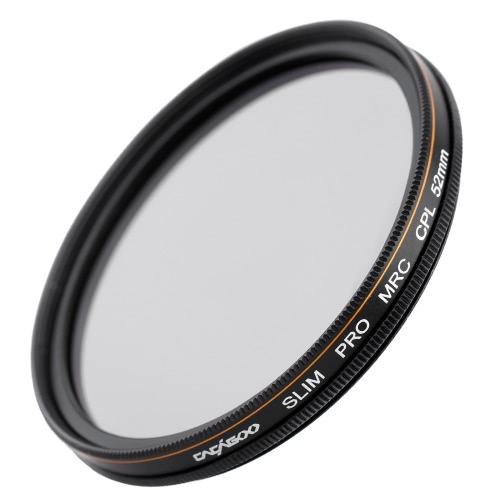 CACAGOO 52mm CPL Circular Polarizer Filter Photography