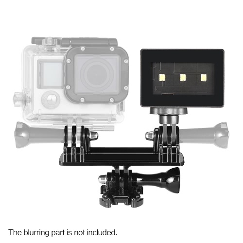 Super Mini Portable Photography Shooting Video LED Light Lamp for Gopro 3-3+-4 Action Sports Camera