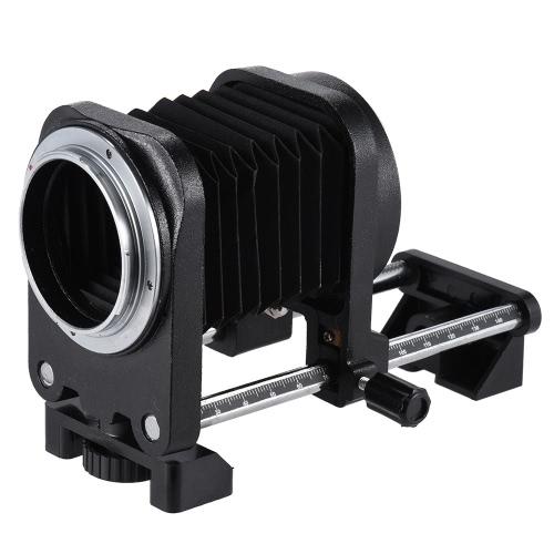 Macro Entension Bellows Focusing Attachments Accessory for Canon EOS EF Mount 7D 60D 5DII 600D 50D 550D 1100D DSLR D3916