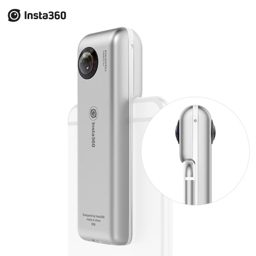 Insta360 Nano Compact Mini 360 Degree Panoramic Panorama Camera 3K HD Video 210 Degree Dual Wide Angle Fisheye Lens for VR Headset Glasses