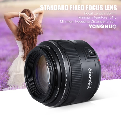YONGNUO YN85mm f1.8 AF/MF Standard Medium Telephoto Prime Lens Fixed Focal Lens for Canon EF Mount EOS 7DII  5DII 5DIII 5DS 5DSR 1D Mark I/II/III/IV 1DS Mark I/II/III 1DX 6D 80D 70D 760D 700D 650D CamerasCamera Lenses<br>YONGNUO YN85mm f1.8 AF/MF Standard Medium Telephoto Prime Lens Fixed Focal Lens for Canon EF Mount EOS 7DII  5DII 5DIII 5DS 5DSR 1D Mark I/II/III/IV 1DS Mark I/II/III 1DX 6D 80D 70D 760D 700D 650D Cameras<br><br>Blade Length: 13.0cm