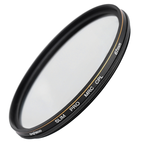 CACAGOO 67mm CPL Circular Polarizer Filter Photography