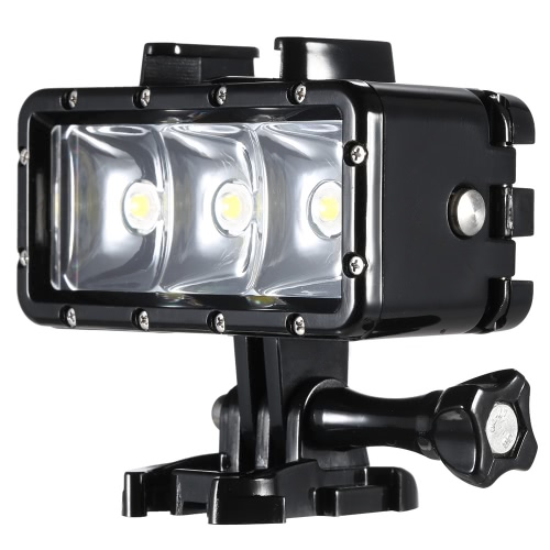 Waterproof Portable LED Diving Video Fill-in Light Lamp for GoPro Hero SJCAM Xiaomi Yi Sports Action