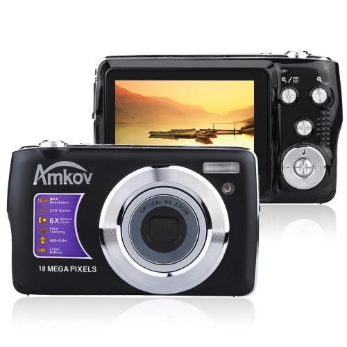 AMKOV OE3 HD Digital Camera Video Camcorder 18MP 2.7
