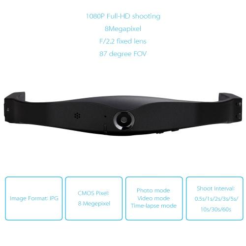 Foream X1 Sport Action Camera 1080P Full-HD 8MP Wi-Fi Mini Wearable Helmet Camera Broadcasting Auto