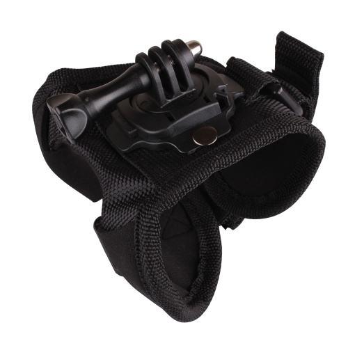 Andoer 360 Degree Rotation Glove-style Band Mount Palm Strap Accessories for GoPro Hero 4/3+/3/2/1 Camera Large D1497S