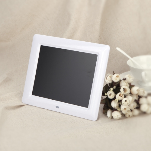7'' HD TFT-LCD Digital Photo Frame with Slideshow Clock MP3 MP4 Movie Player with Remote Desktop