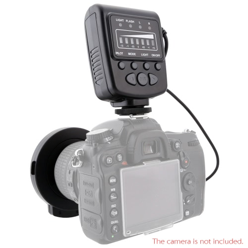 Meike FC-100 Macro Ring Flash/Light LED for Canon EOS 700D 650D 5D III Nikon D7100 D7000 Pentax Olympus Panasonic DSLR D1690