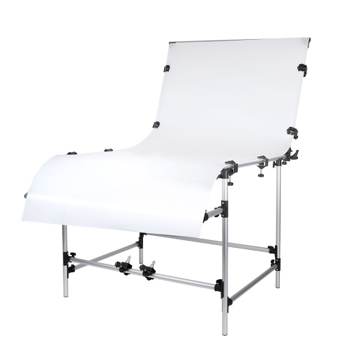 Buy Photo Studio Photography 100 * 200cm Shooting Table Still Life Product Aluminum Alloy Frame