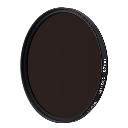 Andoer 67mm ND1000 10 Stop Fader Neutral Density Filter for Nikon Canon DSLR CameraND Filters<br>Andoer 67mm ND1000 10 Stop Fader Neutral Density Filter for Nikon Canon DSLR Camera<br><br>Blade Length: 9.0cm