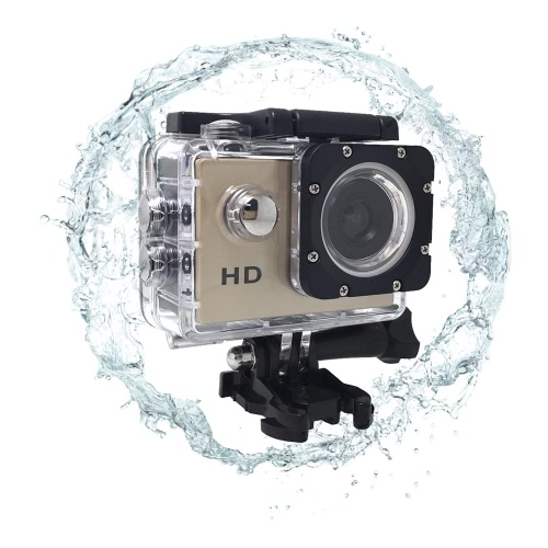A7 HD 720P Sport Mini DV Action Camera 2.0 LCD 90¡ã Wide Angle Lens 30M Waterproof