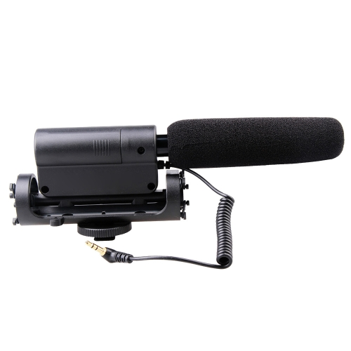 Photography Interview Video MIC Microphone for Nikon Canon Sony Olympus DSLR SLR Camera DV Camcorder