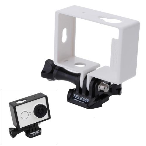 TELESIN Protective Housing Side Border Frame Case for Xiaomi Yi Xiaoyi Action Sport Camera Accessori