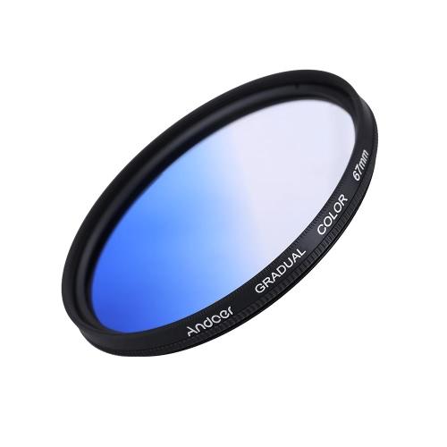 Andoer Professional GND Graduated Blue 67mm Filter Graduated Neutral Density Filter for Canon Nikon DSLR 58mm Camera LensND Filters<br>Andoer Professional GND Graduated Blue 67mm Filter Graduated Neutral Density Filter for Canon Nikon DSLR 58mm Camera Lens<br><br>Blade Length: 11.0cm