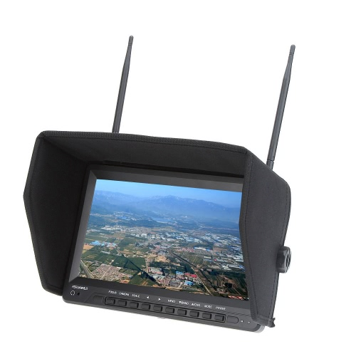 Feelworld FPV1032 FPV 10.1 HD TFT LCD Monitor 1024 * 600 HD Dual Receiver Antenna for FPV Photography Aerial PhotographyVideo Monitors<br>Feelworld FPV1032 FPV 10.1 HD TFT LCD Monitor 1024 * 600 HD Dual Receiver Antenna for FPV Photography Aerial Photography<br><br>Blade Length: 28.6cm