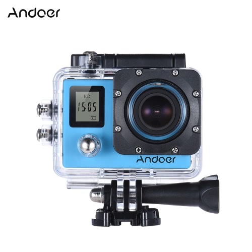 Andoer 4K 30fps/1080P 60fps Full HD 16MP Action Camera Waterproof 30m WiFi 2.0