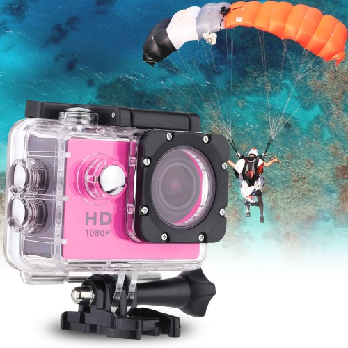 F23 1080P 30FPS 12MP 1.5 Screen Waterproof 30M Shockproof 170¡ã Wide Angle Outdoor Action Sports Cam