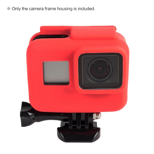 Buy Soft Silicon Frame Housing Rubber Bracket Case Protective Shell Cover Skin Wrap Protector GoPro Hero 5 Sports Action Camera