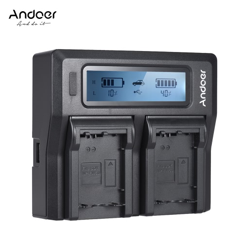 Andoer LP-E6 LP-E6N Dual Channel Digital Camera Battery Charger w/ LCD Display for Canon  EOS 5DII 5DIII 5DS 5DSR 6D 7DII 60D 80D 70DBattery and handles<br>Andoer LP-E6 LP-E6N Dual Channel Digital Camera Battery Charger w/ LCD Display for Canon  EOS 5DII 5DIII 5DS 5DSR 6D 7DII 60D 80D 70D<br><br>Blade Length: 17.8cm