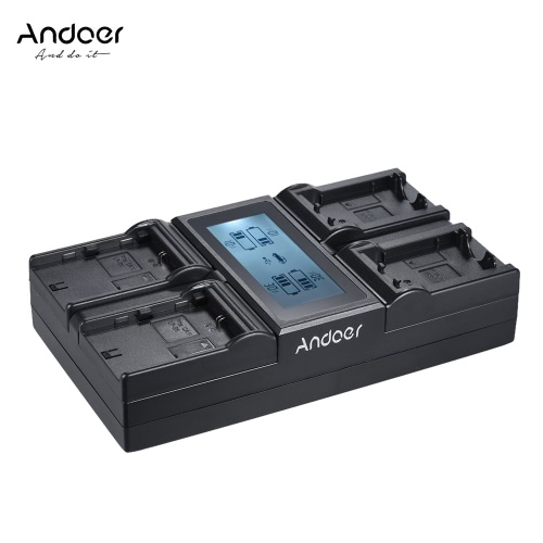 Andoer LP-E6 LP-E6N 4-Channel Digital Camera Battery Charger w/ LCD Display for Canon EOS 5DII 5DIII 5DS 5DSR 6D 7DII 60D 80D 70DBattery and handles<br>Andoer LP-E6 LP-E6N 4-Channel Digital Camera Battery Charger w/ LCD Display for Canon EOS 5DII 5DIII 5DS 5DSR 6D 7DII 60D 80D 70D<br><br>Blade Length: 20.8cm