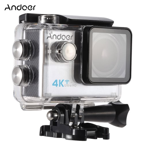 Andoer? Waterproof Ultra HD 2.0 LCD 16MP 4K 1080P 60FPS 4X Zoom WiFi 25mm 173 Degree Wide-Lens Action Sports CameraSport Cameras<br>Andoer? Waterproof Ultra HD 2.0 LCD 16MP 4K 1080P 60FPS 4X Zoom WiFi 25mm 173 Degree Wide-Lens Action Sports Camera<br><br>Blade Length: 27.0cm