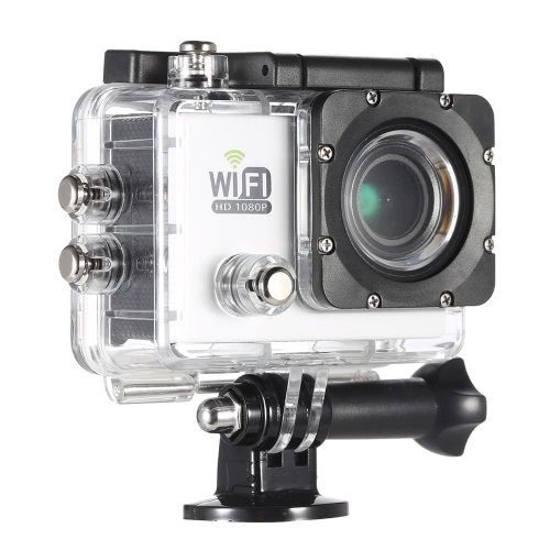 Full HD Wifi Action Sports Camera DV Cam 2.0 LCD 12MP 1080P 30FPS 140 Degree Wide Lens Waterproof fo