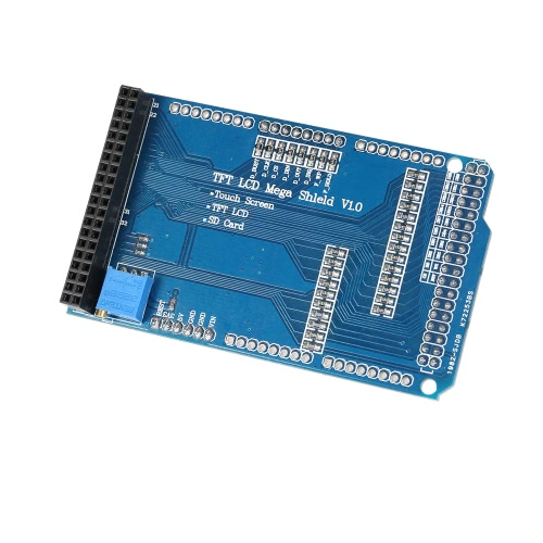 Touch TFT LCD Expansion Board Adjustable Shield Module for Arduino Mega 2560 R3 1280 A082 PlugModules<br>Touch TFT LCD Expansion Board Adjustable Shield Module for Arduino Mega 2560 R3 1280 A082 Plug<br><br>Blade Length: 10.0cm