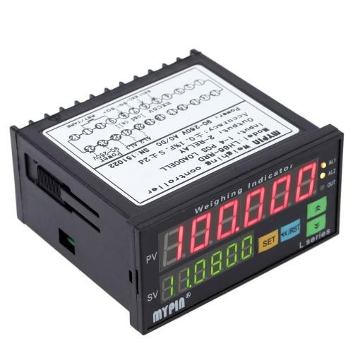 Digital contrôleur pesons indicateur de poids 1-4 cellules signaux entrée 2 relais sortie 6 chiffres LED affichage de la charge