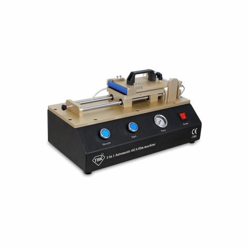 3 dans 1 verre OCA pratique automatique portable Film plastifier Machine pompe à vide intégrée Air compresseur AC100-240V