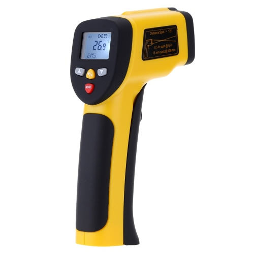 Portable Non-contact Digital Dual Laser Infrared Thermometer IR High Temperature Gun Tester Pyrometer with Back light LCD Display -50?-850?(-58?-1562?) Adjustable Emissivity 12:1Infrared Thermometer<br>Portable Non-contact Digital Dual Laser Infrared Thermometer IR High Temperature Gun Tester Pyrometer with Back light LCD Display -50?-850?(-58?-1562?) Adjustable Emissivity 12:1<br><br>Blade Length: 20.0cm