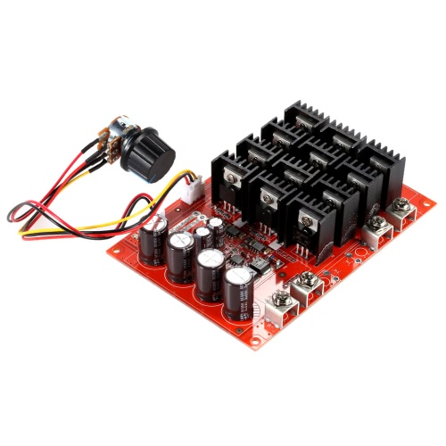 Buy Excellent 10-50V/60A/3000W DC Motor Speed Control PWM HHO RC Controller