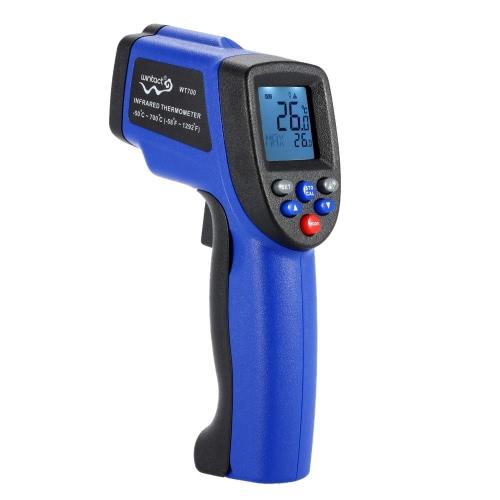 Température thermomètre testeur gammes pyromètre Laser IR infrarouge portatif LCD Digital sans Contact-50 ° C ~ 700 ° C