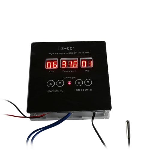 DC12V High-accuracy Intelligent Digital Thermostat DIY Kit -9°C~99°C Temperature Controller Heating Cooling ControlModules<br>DC12V High-accuracy Intelligent Digital Thermostat DIY Kit -9°C~99°C Temperature Controller Heating Cooling Control<br><br>Blade Length: 11.0cm