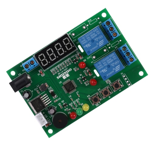 DC 5V~24V Digital Intelligent Temperature &amp; Humidity Controller Control Board Module Relay with LED Indicator Alarm FunctionModules<br>DC 5V~24V Digital Intelligent Temperature &amp; Humidity Controller Control Board Module Relay with LED Indicator Alarm Function<br><br>Blade Length: 13.0cm