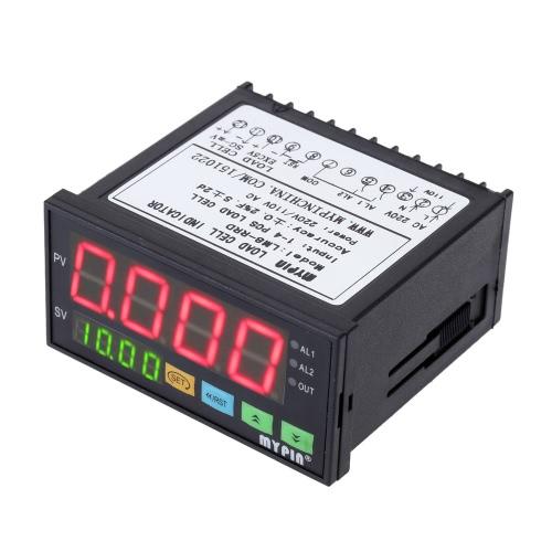 Digital contrôleur pesons indicateur de poids 1-4 cellules signaux entrée 2 relais sortie 4 chiffres LED affichage de la charge
