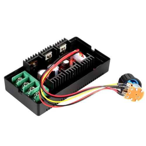 Adjustable 10-50V/40A/2000W DC Motor Speed Control PWM HHO RC Controller E1216-2