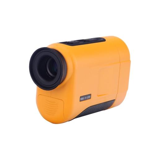 1200m 6 X poche monoculaire Laser Range Finder télescope Distance compteur Golf chasse
