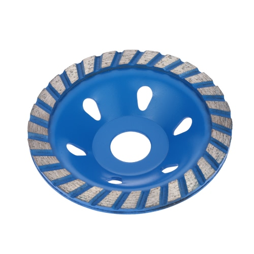 "100mm 4"""" Diamond Segment Grinding Wheel Disc Bowl Shape Grinder Cup Concrete Granite Masonry Stone Ceramics Terrazzo Marble for Building Industry"" E1773"