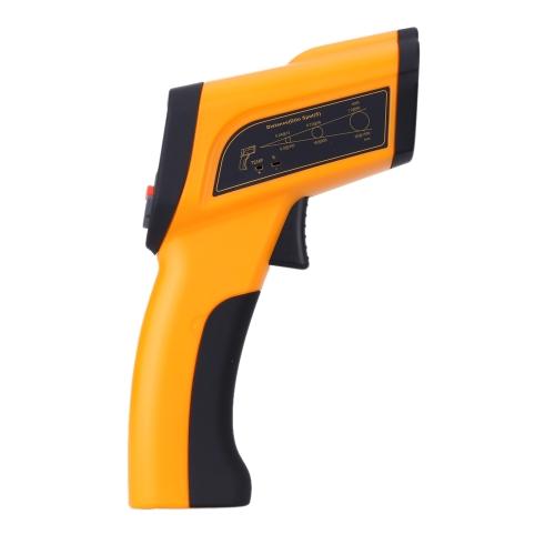 -50° C ~ 2200° C poche non-contact Digital LCD infrarouge thermomètre Laser température testeur pyromètre avec Thermocouple sonde