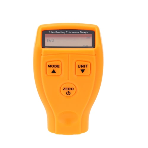 Buy LCD Digital Coating Thickness Gauge Paint/Film Measurement Range 0-1.8mm