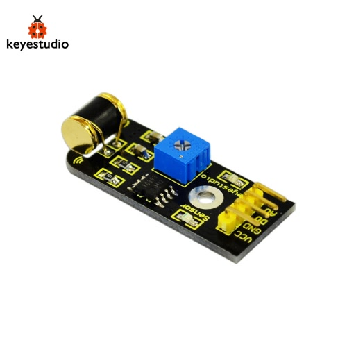 Brand New Keyestudio Vibration Sensor Module For Arduino - Black